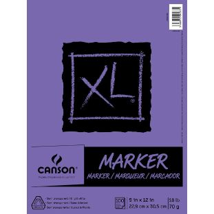 2. Canson XL Series Marker Paper Pad