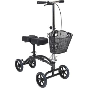2. Drive Medical 796 Dual Pad Steerable Knee Walker