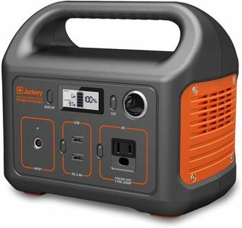 2. Jackery Portable Power Station Backup Lithium Battery 110V-200W Pure Sine Wave AC Outlet