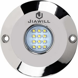2. Jia will 60W CREE LED Surface Mount Underwater Boat Lights
