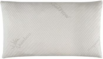 2. Snuggle-Pedic Ultra-Luxury Bamboo Shredded Memory Foam Pillow