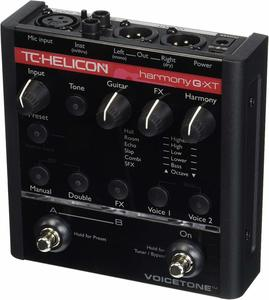 2. TC-Helicon EQ Effects Pedal Vocal Processor