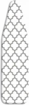 2. Whitmor Deluxe Ironing Board Cover and Pad - Medallion Gray
