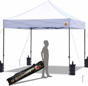 3. ABCCANOPY Pop Up Commercial Canopy 10 x 10