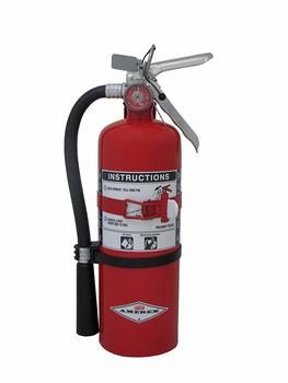 3. Amerex B479T, 5lb Purple K Chemical Class B C Fire Extinguisher