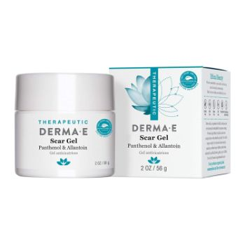 3. DERMA E Scar Gel, Helps Scarred Skin Heal, 2 oz