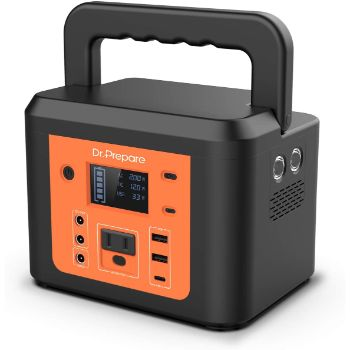 3. Dr. Prepare 178Wh 48000mAh Portable Outdoor Solar Generator
