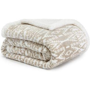 3. Genteele Sherpa Throw Blanket Super Soft