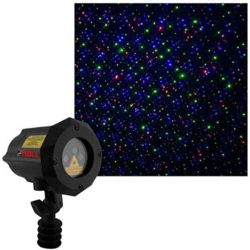 3. Moving Firefly LEDMALL RGB Outdoor Garden Laser Christmas Lights