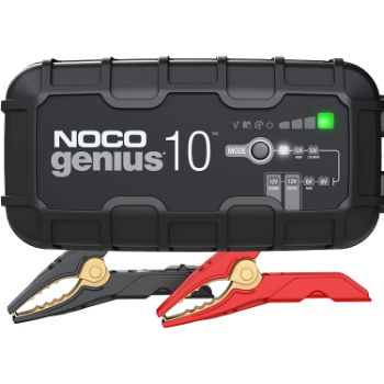 3. NOCO GENIUS10, 10-Amp Fully-Automatic Smart Charger
