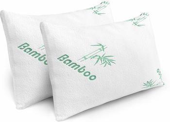 3. Plixio Pillows for Sleeping - Bamboo Pillow 2 Pack