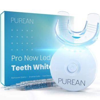 3. Purean Teeth Whitening Kit with LED Light