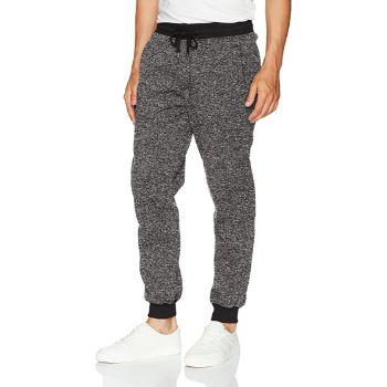 3. Southpole Men's Basic Fleece Marled Jogger Pant