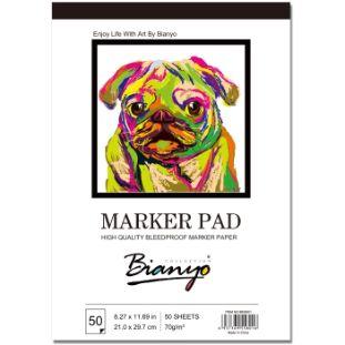 4. Bianyo BN-5801 Bleedproof Marker Paper Pad