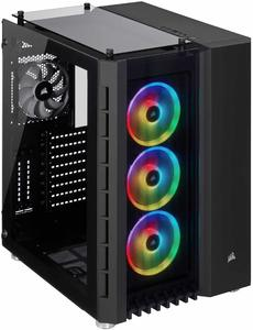 4. CORSAIR Crystal Series High Airflow Tempered Glass Case