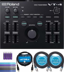4. Roland VT-4 Voice Transformer Vocal Effects Processor