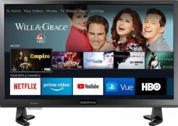 5 Insignia 24-inch 720p HD Smart LED TV- Fire TV Edition