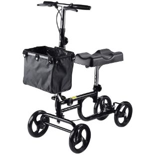 5. AW Heavy Duty Adjustable Knee Rehab Scooter Walker