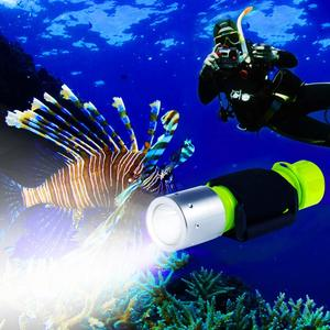 5. BlueFire 1100 Lumen CREE XN-L2 Professional Diving Flashlight