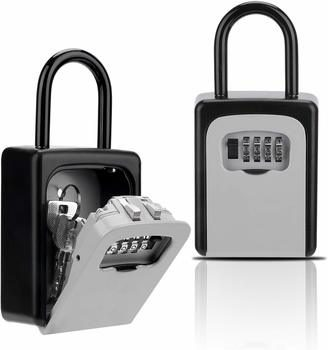 5. Key Lock Box, Combination Lockbox with Code