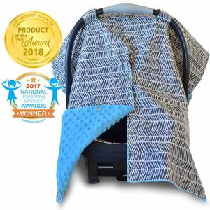 6. 2 in 1 Carseat Canopy and Nursing Cover UP
