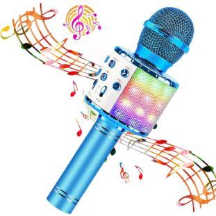 6. BlueFire Wireless 4 in 1 Bluetooth Karaoke Microphone
