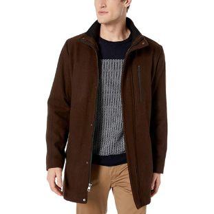6. Calvin Klein Men's Wool Car Coat