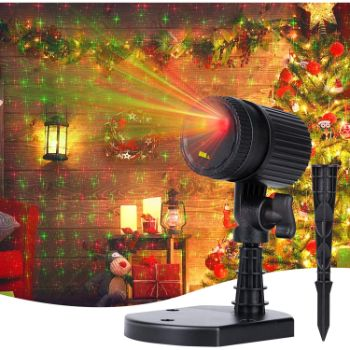 6. Christmas Lights Laser Projector - 3 Working Modes