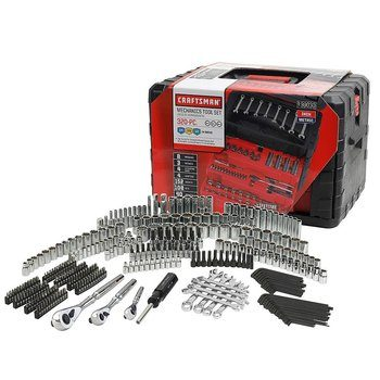 6. Craftsman 320-Piece Mechanic's Tool Set