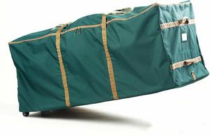 6. Holiday Rolling Christmas Tree Storage Bag by Covermates