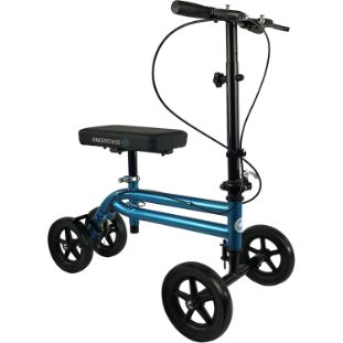 6. KneeRover Economy Knee Scooter Steerable Knee Walker, Metallic Blue