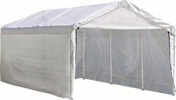 6. ShelterLogic SuperMax 2-in-1 Heavy Duty Steel Frame