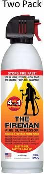 6. THE FIREMAN Multi-Purpose Fire Extinguishing Suppressant Spray