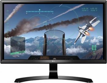 7 LG 24UD58-B 24 Inch TV 1080p 4K UHD IPS Monitor with FreeSync