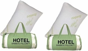 7. 2 PACK King Hotel Bamboo Pillow