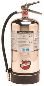 7. Buckeye 50006 Class K Wet Chemical Hand Held Fire Extinguishers