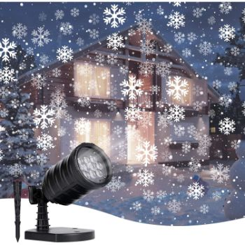 7. Christmas LED Projector Lights Outdoor