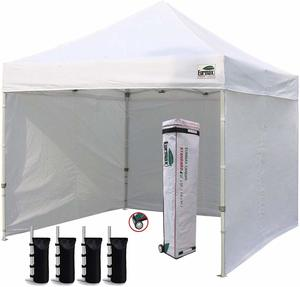 7. Ez Pop-Up Canopy Tent Commercial With 4 Removable Zippers