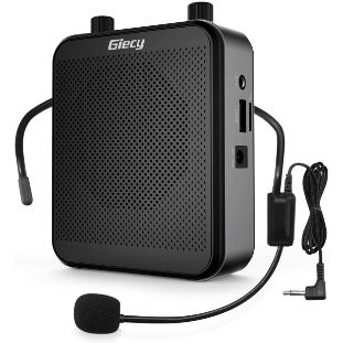 7. Giecy Voice Amplifier Portable Bluetooth PA System Speaker