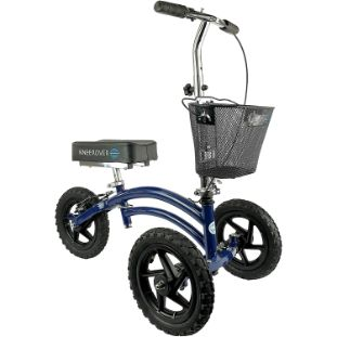 7. KneeRover All Terrain Steerable Knee Scooter