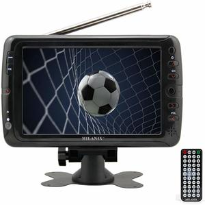 7. Milanix MX7 Portable TV 7-inch Portable Battery Powered Widescreen LCD Handheld TV