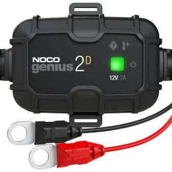 7. NOCO GENIUS2D, 2-Amp Direct-Mount Onboard Charger