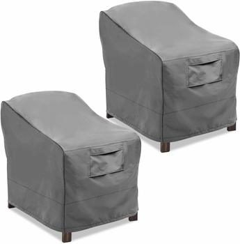 7. Vailge Patio Chair Covers, Lounge Seat Cover