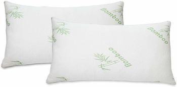8. 2 PACK Bamboo Pillow Memory Foam