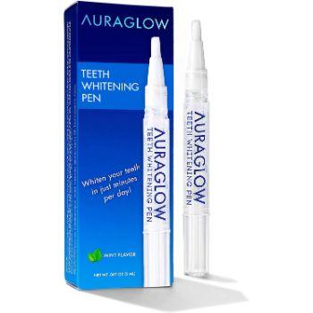 8. AuraGlow Teeth Whitening Pen, No Sensitivity, 2mL