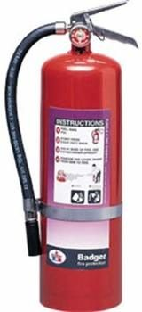 8. Badger Extra 10 lb Purple K Extinguisher
