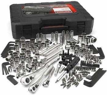 8. Craftsman 230-Piece Mechanics Tool Set Silver
