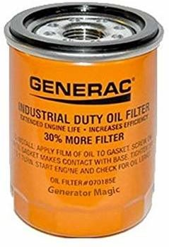8. Generac Car Oil Filter 90 Logo ORNG-CAN