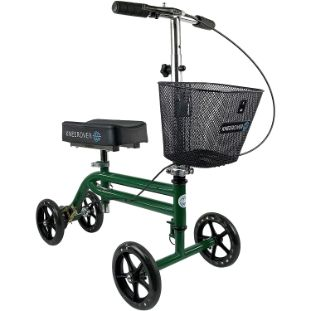 8. KneeRover Steerable Knee Scooter, Green