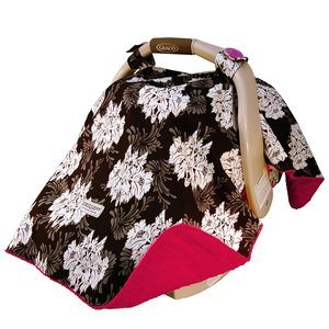 8. Mothers Lounge Car Seat Canopy Lovely